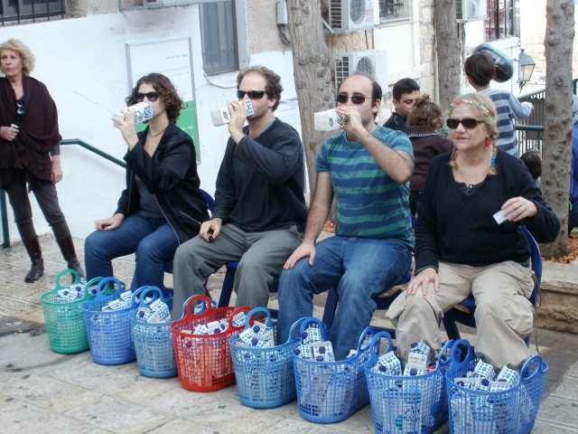 """מיצג רחוב בפסטיבל """"החג של החגים"""" בואדי"""